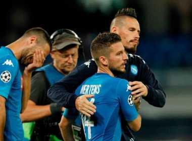 Napoli addio Champions League