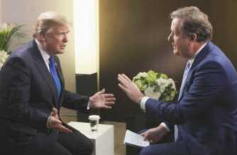 Donald Trump intervistato da Piers Morgan