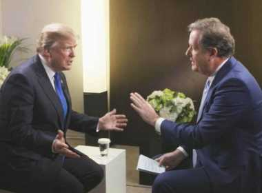 Donald Trump intervistato da Piers Morgan