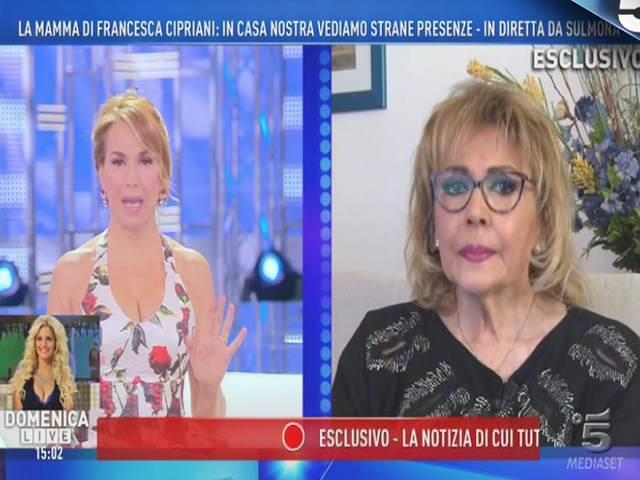 Francesca Cipriani, il racconto della madre