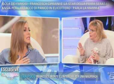 Karina Cascella contro Francesca Cipriani