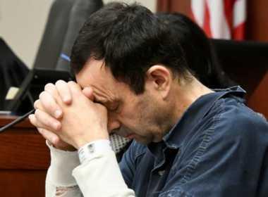 Larry Nassar, condannato per abusi