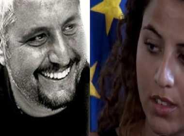 Sara Daniele e il padre Pino