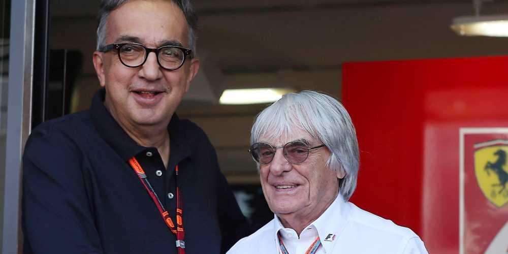 Ecclestone parla della Ferrari