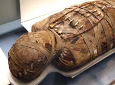 Scansione digitale mummie