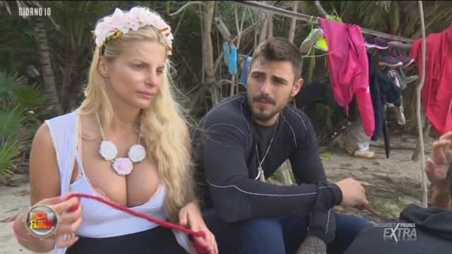 Francesca Cipriani e Francesco Monte