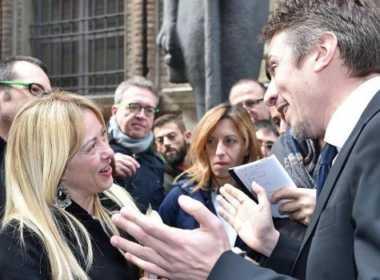 Meloni incontra Greco, direttore del museo egizio di Torino
