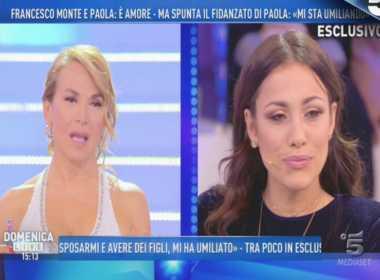 Teresanna Pugliese a Domenica Live