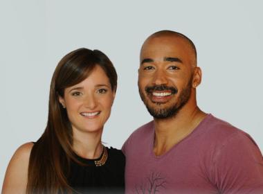 Amaurys Perez e Angela Rende