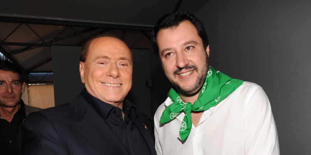 Berlusconi-Salvini: tensione su ritorno al voto