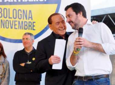 Berlusconi non si fida di Salvini