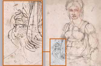 Ritratto Vittoria Colonna: la caricatura di Michelangelo
