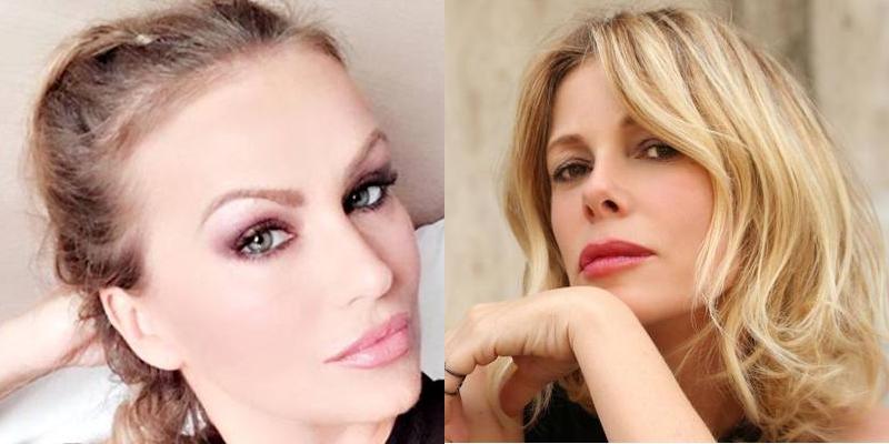 Eva Henger e Alessia Marcuzzi