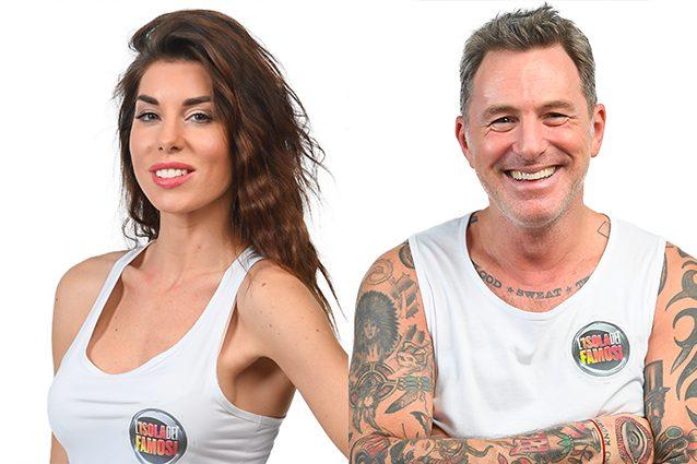Filippo Nardi e Bianca Atzei