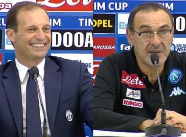 Allegri e Sarri potrebbero lasciare Juve e Napoli