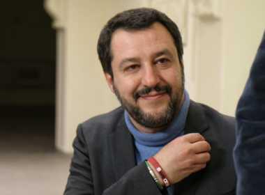 Matteo Salvini propone governo di scopo