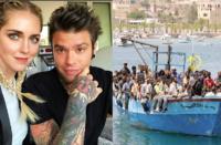 Migranti, Chiara Ferragni e Fedez