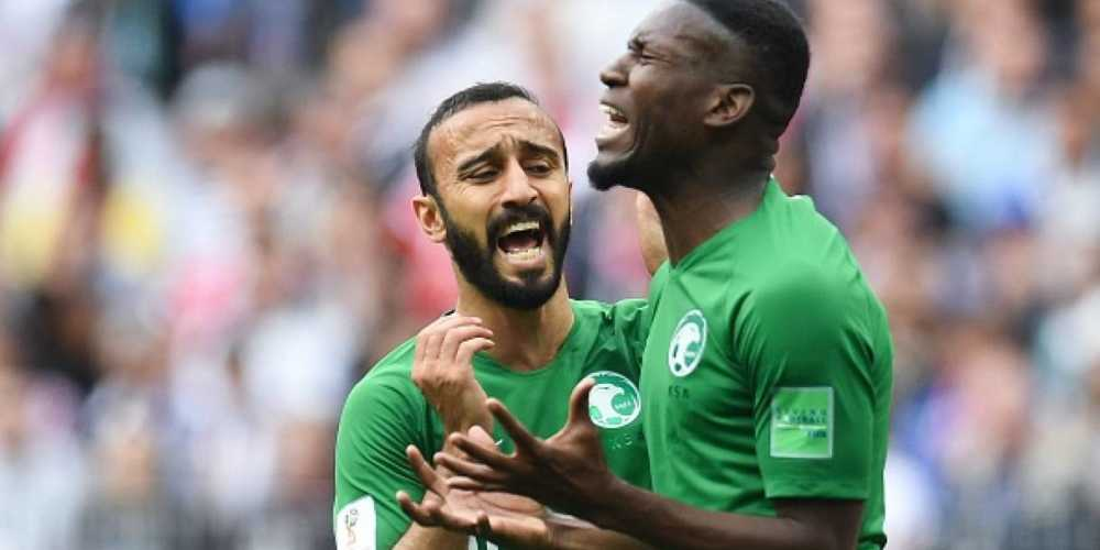 Arabia Saudita, annunciate punizioni ai calciatori