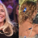 Mara Venier, Barbara D'Urso e Alberto Mezzetti