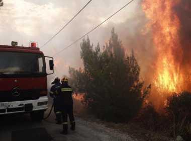 Incendi devastanti in Grecia.