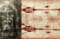 Sacra Sindone: diverse macchie di sangue fittizie