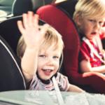 Concesio, bimbi soli in macchina