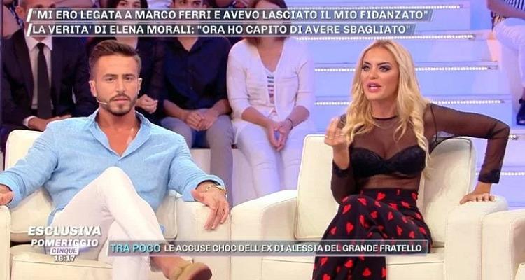 Elena Morali attacca Marco Ferri