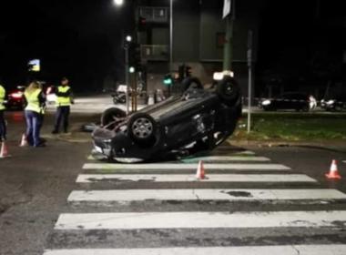 Milano, pirata della strada scappa ma viene bloccato
