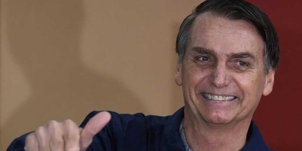 Bolsonaro, nuovo presidente del Brasile.