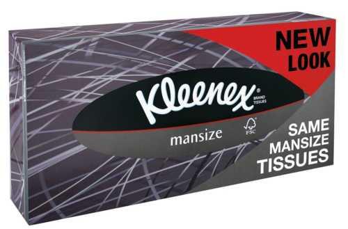 Kleenex: i fazzoletti Mansize diventano Extra Large.