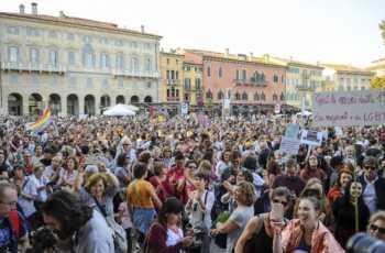Verona, manifestazione a sostegno della Legge 194.