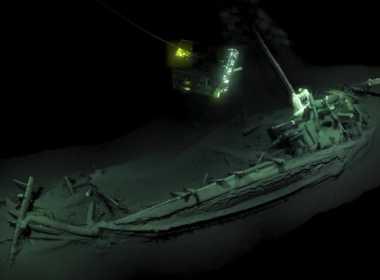 Scoperta nave antica nel Mar Nero.