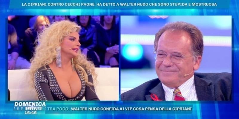 Francesca Cipriani sbotta contro Cecchi Paone