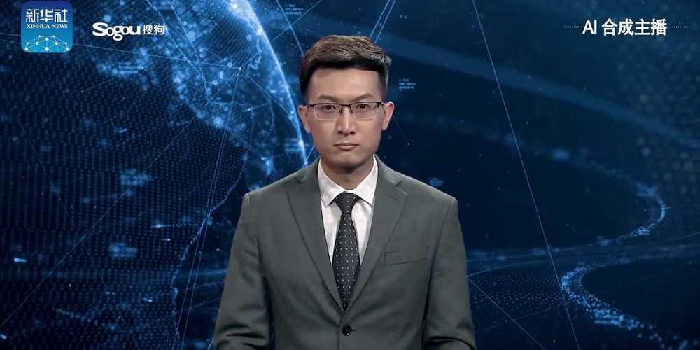Cina: ha esordito il primo giornalista virtuale.
