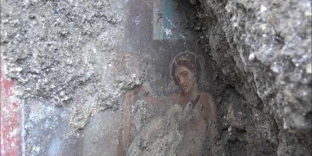 Leda e il cigno: l'ultimo affresco di Pompei.