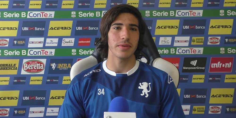 Sandro Tonali convocato in Nazionale.