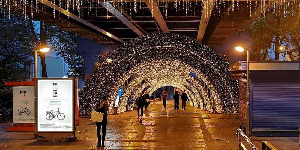 Genova: il 7 dicembre accensione del tunnel di luci.