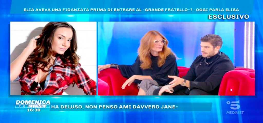 Domenica Live, Elia e Jane