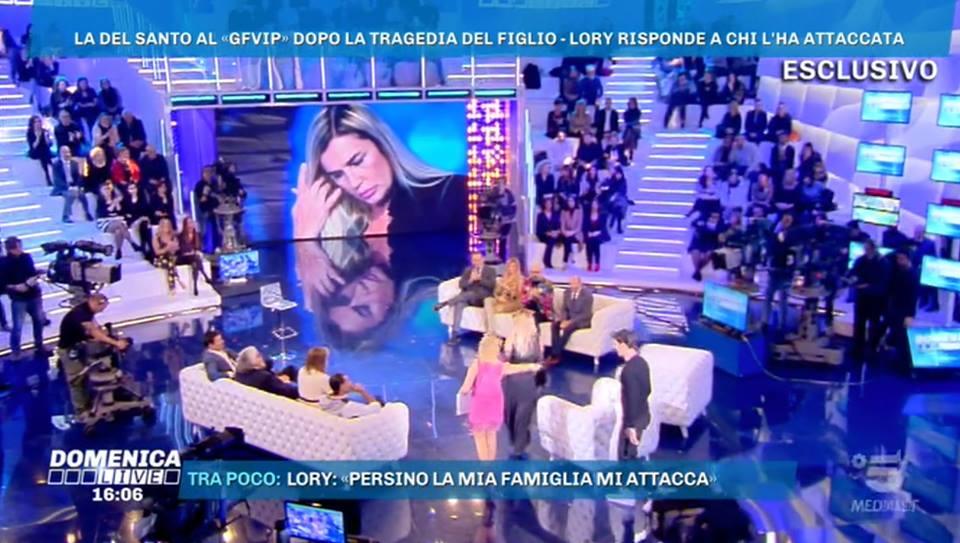 Domenica Live, Lory Del Santo