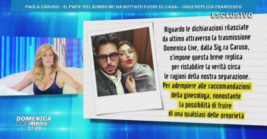 Domenica Live, Paola Caruso