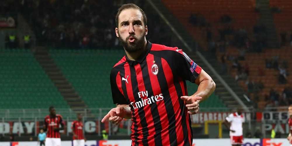 Il Milan potrebbe rinunciare al riscatto di Higuain.