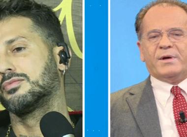 Mattino 5, lite tra Fabrizio Corona e Alessandro Cecchi Paone