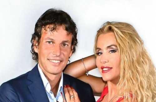 Valeria Marini e Patrick Baldassari