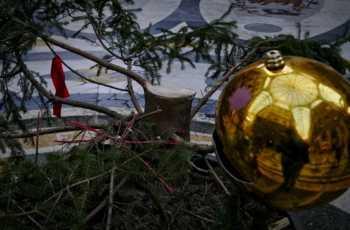 Napoli, Galleria Umberto: rubato albero di Natale.