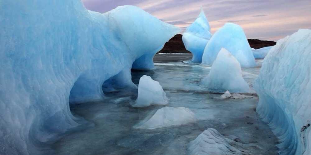 Allarme Groenlandia: i ghiacciai si sciolgono rapidamente.