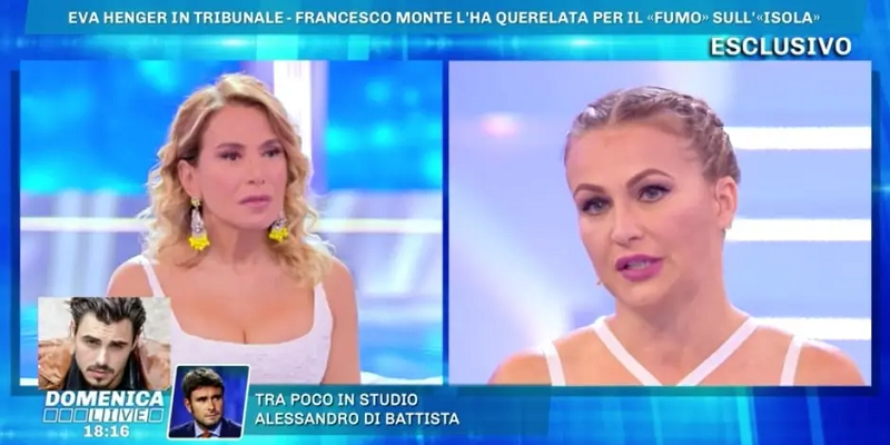 Eva Henger querelata da Francesco Monte