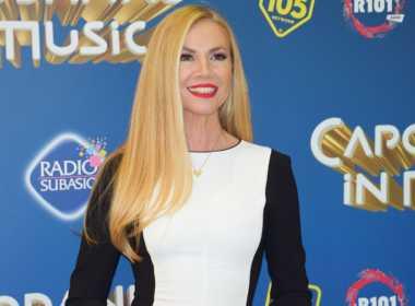 Federica Panicucci conduttrice di Capodanno in Musica.