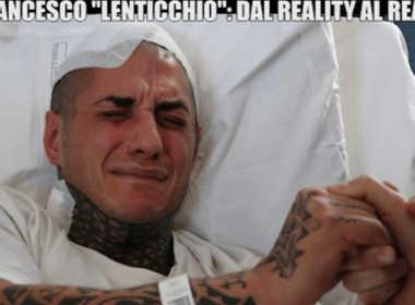 Francesco Chiofalo in lacrime a Le Iene