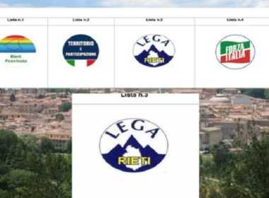 Lega di Rieti: il logo incriminato.