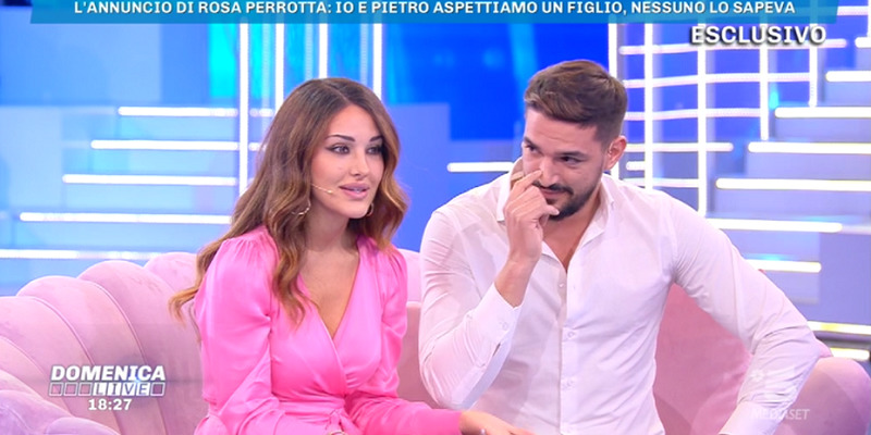 Rosa Perrotta e Pietro Tartaglione Domenica Live